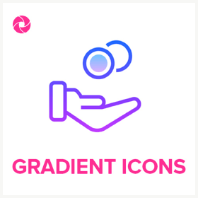Pickit royalty free image collection Gradient Icons