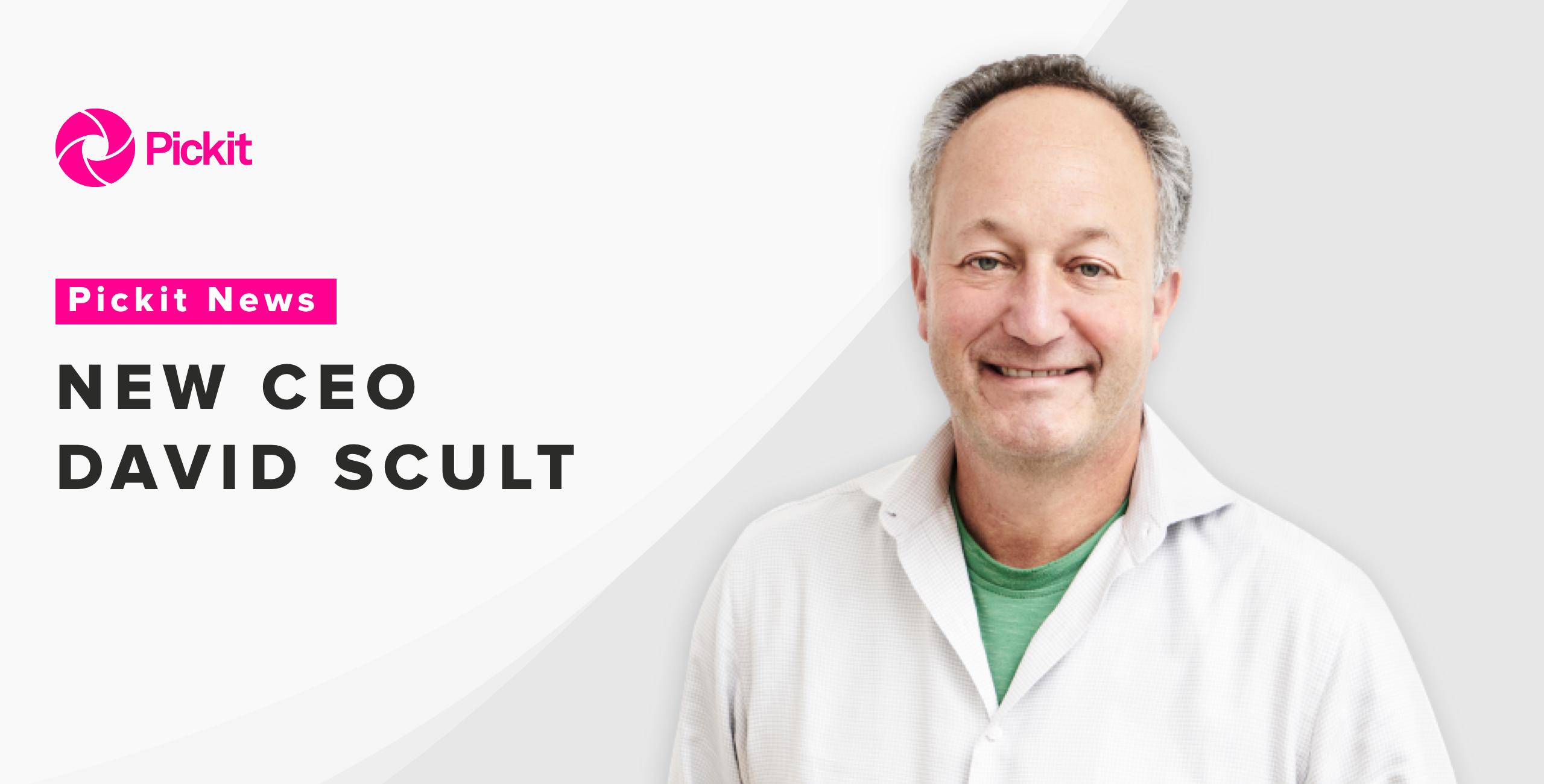 New CEO DAVID SCULT NEW
